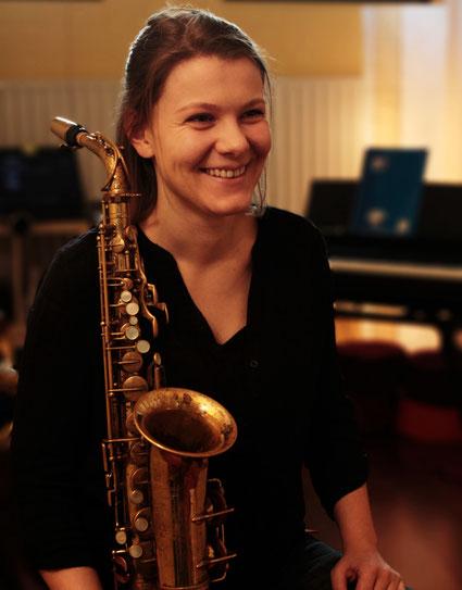 Claudia Rehrmann - Saxophonlehrerin Musik.Punkt. Bremen