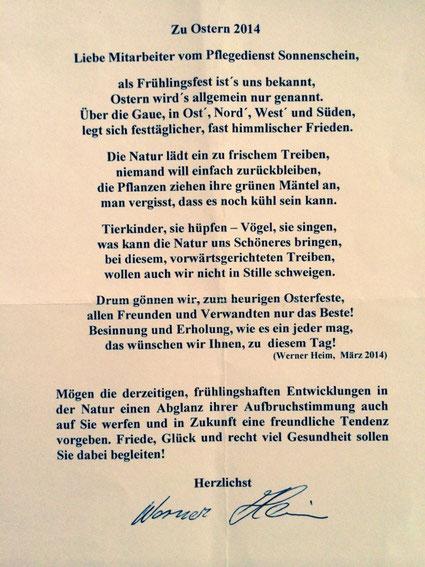 Gedichte Und Bilder.Gedichte Pflegezentrum Augsburg De Sonnenschein Team De