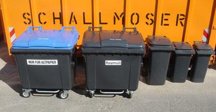Abfallsammelbehältern