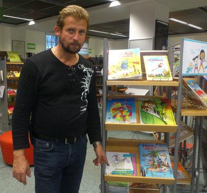 Das fröhlich bunte Liederbuch in der Stadtbibliothek in Chemnitz