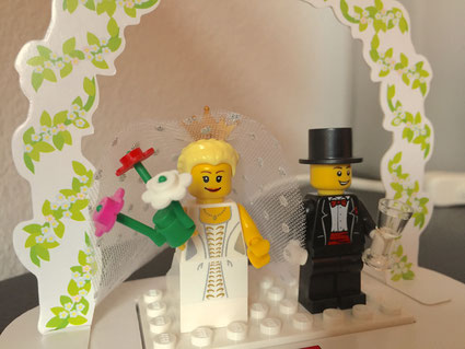 DJ Leipzig - Lego Hochzeitspaar :)