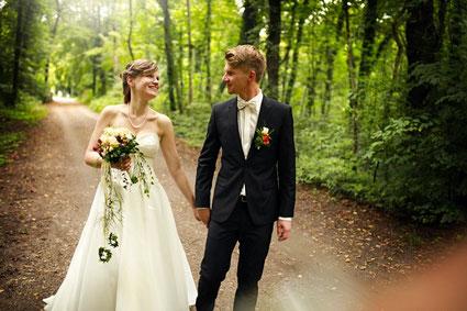 Der Hochzeits - DJ mal selbst im Bräutigamsanzug