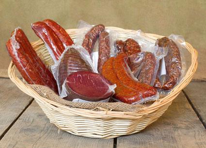 Unser Trockenfleisch-Sortiment