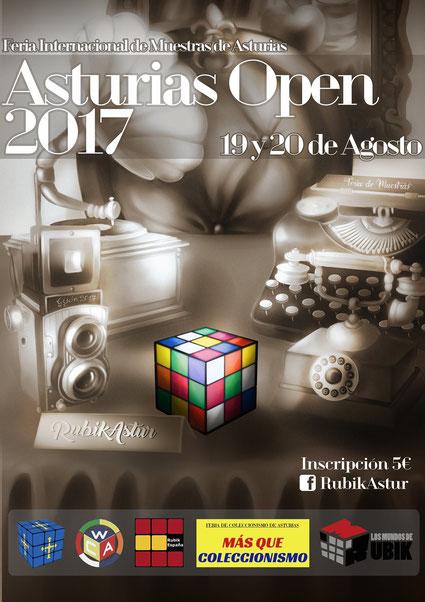 Cartel del Asturias Open 2017