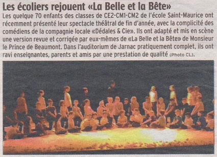 La Charente Libre du 9 juillet 2013