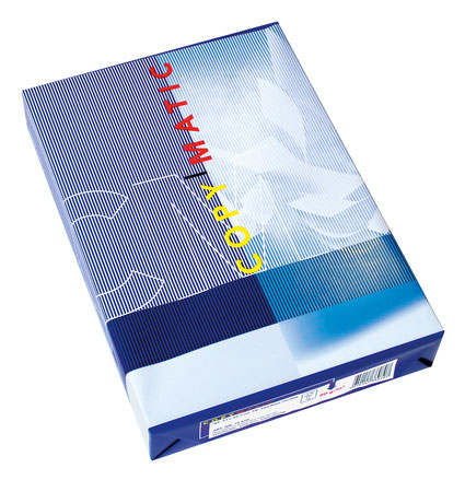 Profitieren Sie von unserer Jahresaktion Kopierpapier Copymatic, nachhaltig und FSC-Zertifiziert