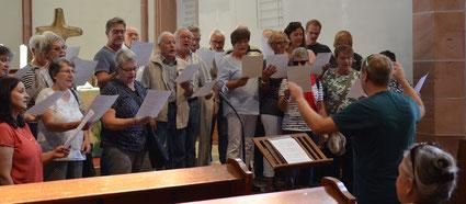 Hervorragende Akkustik in der Protestantischen Kirche in Freinsheim