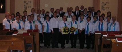 Musikalischer Ehrungsgottesdienst an Erntedank 2011