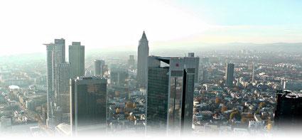 © Welt der Synoptik | Skyline von Frankfurt am Main