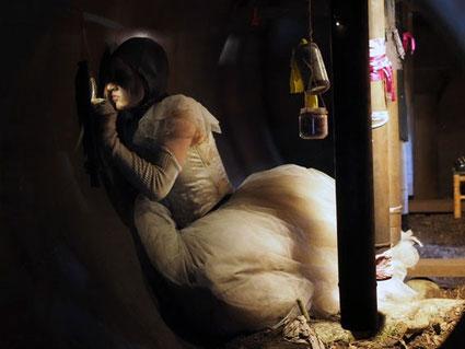 """Peri"" - Performative Installation - Foto: Stefan Schulz"