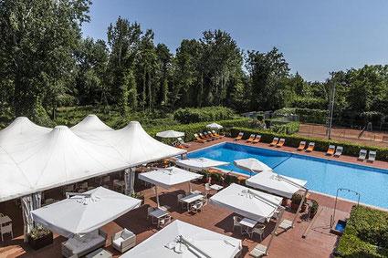 UNA Hotel Forte dei Marmi Toskana  Apuanische  Alpen Marmor Carrara edel Golfplatz Pinien Urlaub Golfurlaub Golfferien Golf Italien