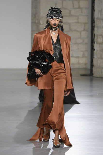 Nielsen show Paris Fashion week 2018.