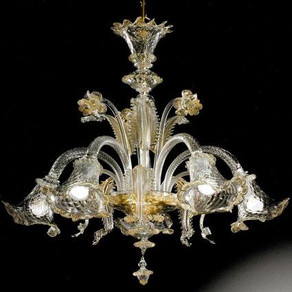 lampadario-veneziano-trasparente-con-oro