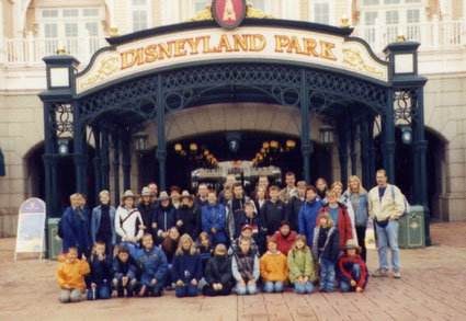 """""""Jugendfreizeit 2002  im """"Euro Disney"""", Paris"""""""