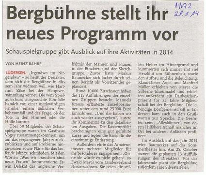 Quelle: Hannoversche Allgemeine Zeitung