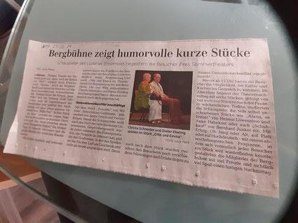 Neue Deister Zeitung 27.06.2019