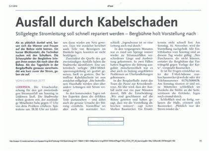 Quelle: Hannoversche Allgemeine Zeitung / Deister-Anzeiger