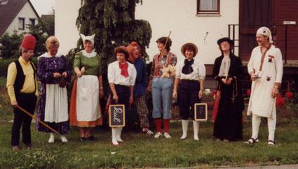 Schützenumzug 1983 in Hannover