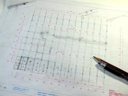 N邸構造計画図