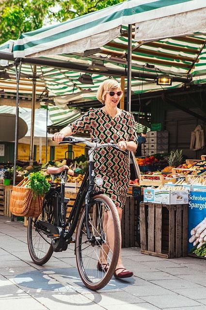 e-Bike für Senioren Rahmenform
