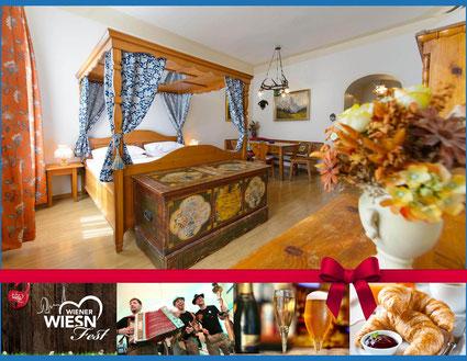 Hotel Urania Wien Wiener Wiesen Fest Prater Dirndl Lederhose Bier Musik