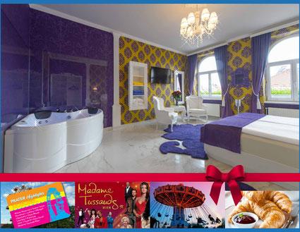 Hotel Urania Wiener Prater Highlights Riesenrad Madame Tussauds Pratercard