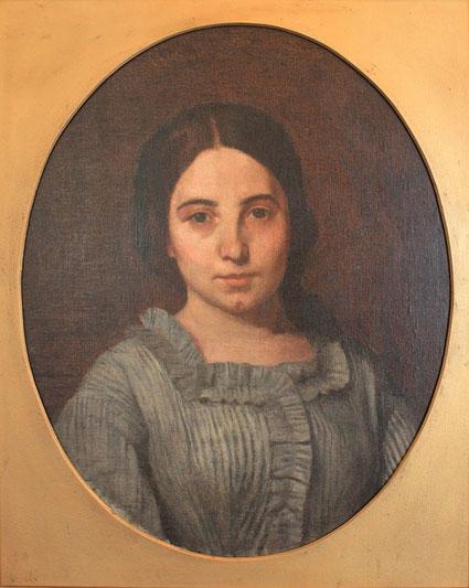 Portrait d'Adrienne Pinkasova (1862)