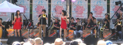 Toshiba Ride On Jazz Orchestra (仙台市民広場でのステージ, Sept 12 2015)