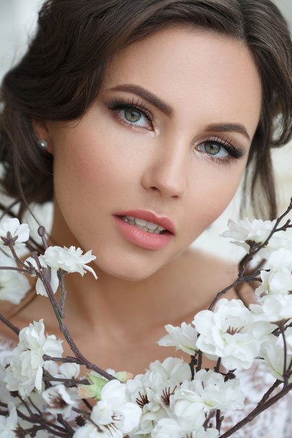 Braut Gesicht