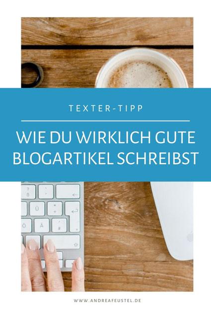 Wie du gute blogartikel schreibst - Anleitung schritt für schritt Anleitung mit der du schneller Blogartikel schreiben kannst.