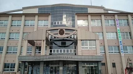 長井工業高校外観