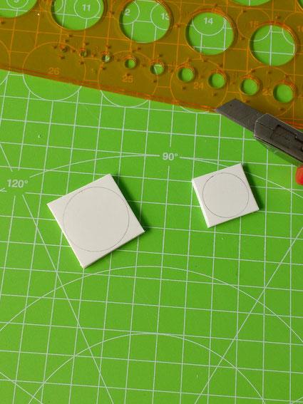 Miniatur-Bistrotisch