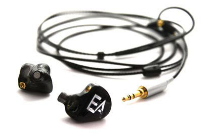 Ecouteurs intra auriculaires in ear monitors EA H202 de Erdre Audio