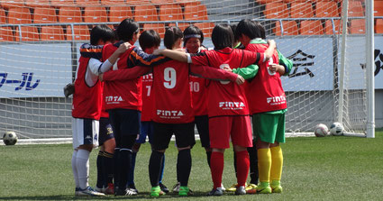 米国大学女子サッカーセレクションキャンプの写真