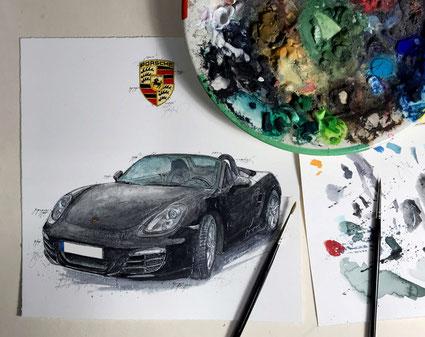 Porsche, Boxter, 981, Leslie G. Hunt