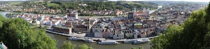 3 Flüsse Stadt Passau