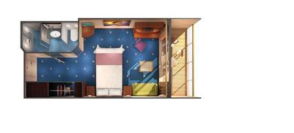 Norwegian Pearl Balcony Cabin $2199*
