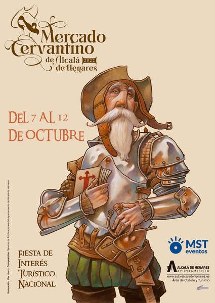 Programa del Mercado Cervantino en Alcalá de Henares