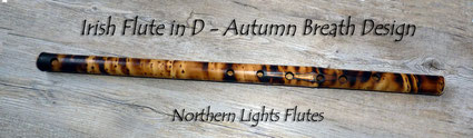 Irish Flute - Autumn Breath Design