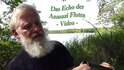 Anasazi Flöte, wie man sie spielt, Video