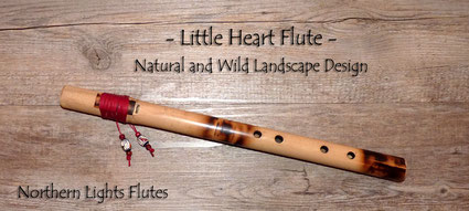 Little Heart Flute - Natural and WIldlandscape Design