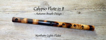 Calypso in B - Autumn Breath Design from Northern Lights Flutes