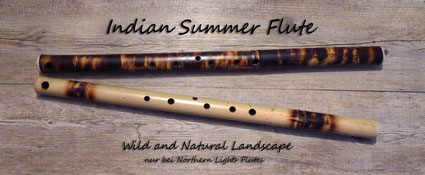 Indian Summer Flute - Wild and Natural Landscape Design