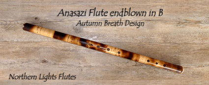 Anasazi Flute endblown in B from Northern Lights Flutes