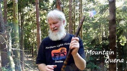 Wenn ein Berg nur ein Hügel ist - Maountain Quena spielen lernen Video