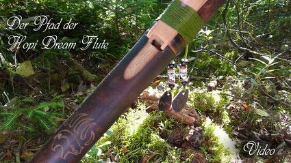 Der Pfad der Hopi Dream Flute neues Instrument und Video
