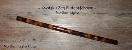 Kyotaku Zen Flute sidebown - Northern Lights - from Northern LIghts Flutes
