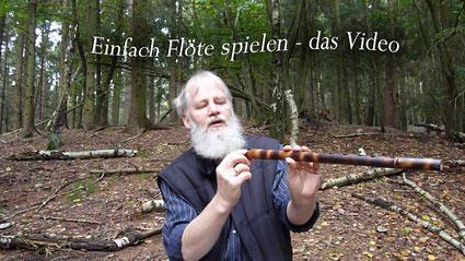 Einfach Flöte Spielen - Video Titelbild