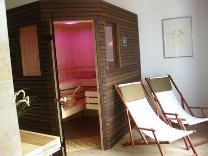 Sauna im Ferienhaus Usedom Karlshagen