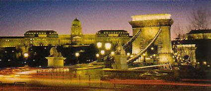 Zu Gast in Ungarn - Die Kettenbrücke in Budapest